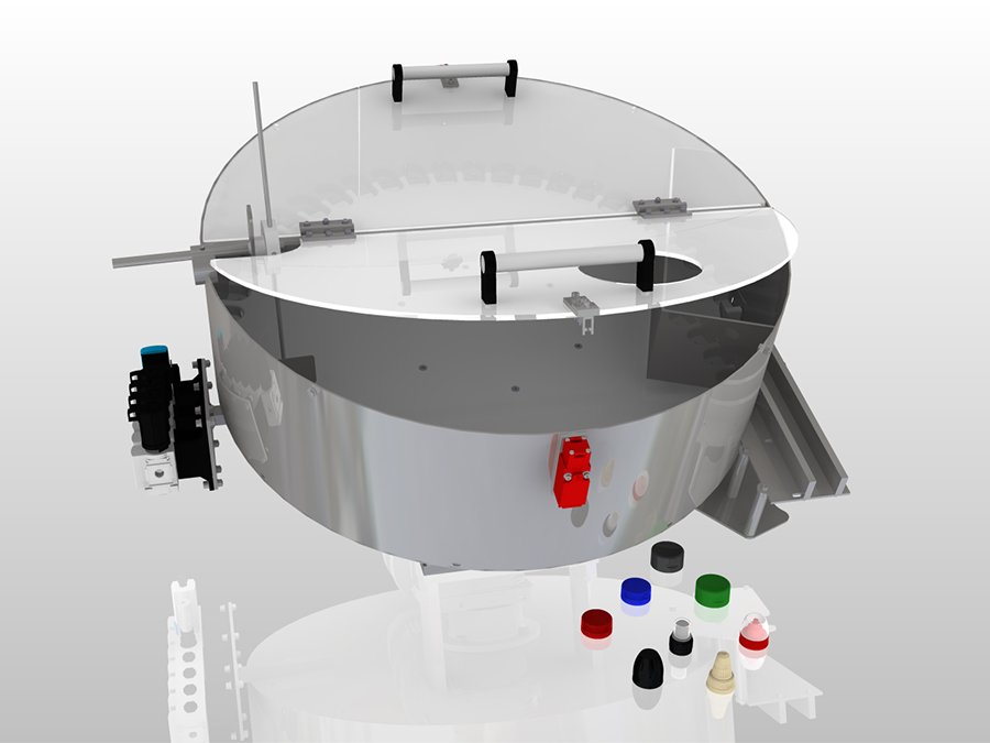 cavity bowl feeder design
